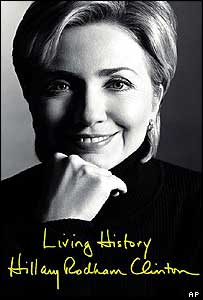 Hillary Clinton's book cover