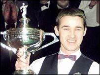 Former world champion Stephen Hendry