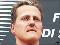 Schumacher raced despite the death of his mother