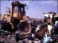 Landfill site, BBC
