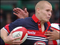 Former Wales full-back Matt Cardey