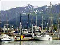 Alaskan harbour   Deb Antonini/Pew Oceans Commission