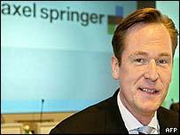 Mathias Doepfner, chief executive of Axel Springer