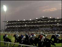 Action from the 1999 Dubai World Cup meeting