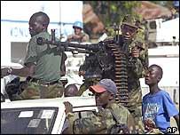 Rebels in Bunia