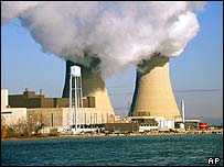 Nuclear power plant in Detroit