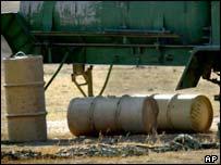 Suspected Iraqi chemicals
