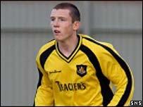Dumbarton defender Neill Collins