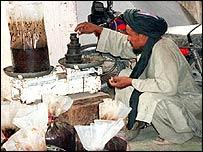 Heroin manufacturer in Kabul