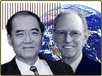 Koichiro Matsuura and Michael Rouse