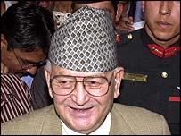 PM Surya Bahadur Thapa