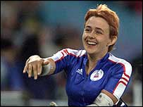 Tanni Grey-Thompson won four gold medals at the Sydney Paralympics