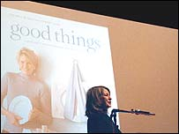 Martha Stewart at Harvard