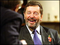 Home Secretary David Blunkett