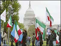 Iranian-Americans hold rally in Washington demanding urgent measures to stop Iran's attacks on People's Mujahideen bases
