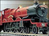 Hornby's Hogwarts Express model