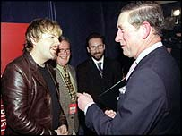 Eddie Izzard and Prince Charles