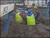 Scottish Water workers