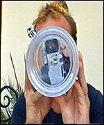 Kenyon with underwater camera