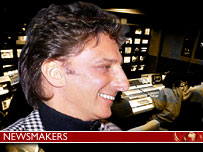 Is Barry Manilow the new face - or nose - of retro-cool?