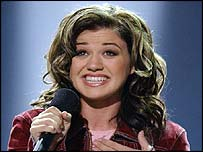 American Idol winner Kelly Clarkson