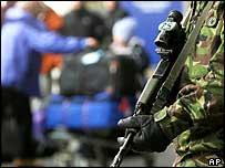 Army at Heathrow