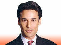 BBC News 24 presenter Matthew Amroliwala