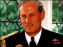 Admiral Lord Boyce