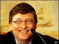 Microsoft chairman Bill Gates, AP