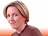 BBC News 24 presenter Carrie Gracie