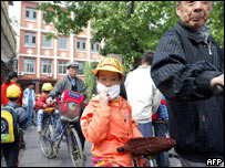 Children are taken home in Beijing