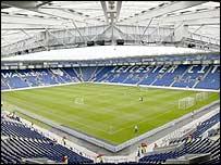 Leicester's Walker's Stadium