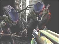 Screengrab from Aliens versus Predator, Vivendi