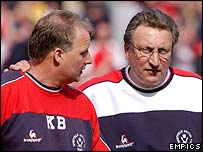 Kevin Blackwell and Neil Warnock