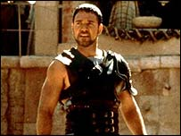 Russell Crowe as Maximus in 'Gladiator'