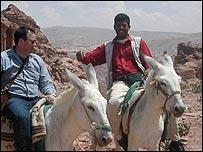 Donkey handlers, jordan