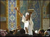 Iraqi Shias in Karbala