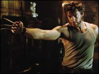 Wolverine in X-Men 2
