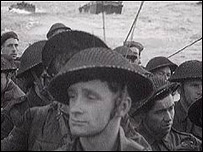 British troops at Normandy