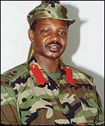 Ugandan Major General  Kazini