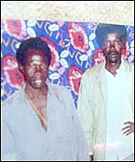 LRA rebels, Vincent Otti (l) and Joseph Kony (r)