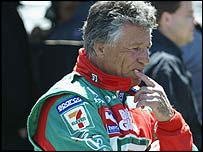 Former Formula One world champion Mario Andretti