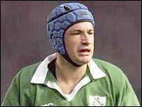 Ireland captain David Humphreys