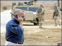 Retired General Jay Garner