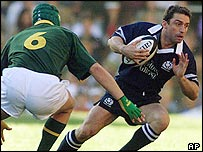 Scotland captain Bryan Redpath