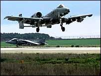 A-10 tank-buster aircraft   PA