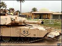 US tank in Iraq   AP