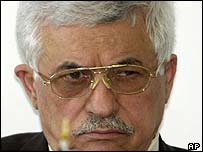 Palestinian Prime Minister Mahmoud Abbas, also known as Abu Mazen