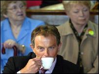 Tony Blair in Rhondda