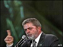 Brazilian President Luis Ignacio Lula da Silva